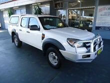 2010 Ford Ranger PK XL (4x4) White 5 Speed Manual Dual Cab Pick-up Hamilton Newcastle Area Preview