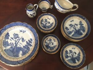 Royal Daulton Old Willow dishes