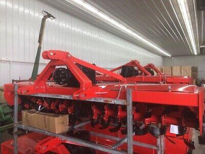 Extra Heavy Duty 3 Point 9 Ft. Rotary Tiller Tractor Tiller