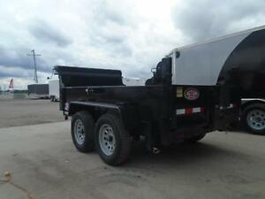 3.5 ton dump -GREAT FOR CITY JOBS AND TOWS EASILY 60'' X 10' BED London Ontario image 6