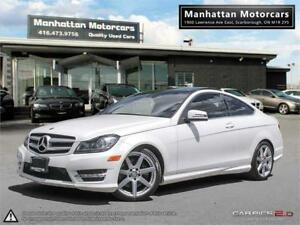 2013 MERCEDES BENZ C350 4MATIC COUPE |NAV|CAMERA|PHONE|BLINDSPOT