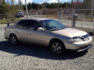 2002 Honda Accord SE PARFAITE CONDITION
