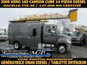 2009 Hino 165 CUBE 14 PIEDS NACELLE TTS 40