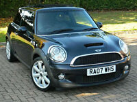 2007 07 REG MINI COOPER S 1.6 175BHP PEPPER PACK