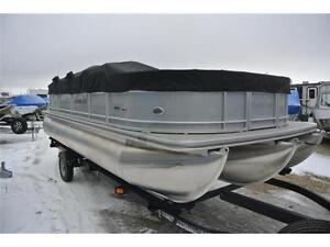 This just in!! 220F2.75 fishing pontoon. Call Tristan 2day