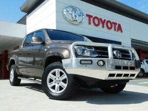 2014 Volkswagen Amarok 2H MY14 TDI420 4Motion Perm Brown 8 Speed Automatic Utility Greenway Tuggeranong Preview