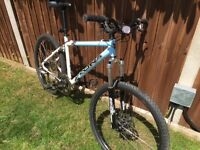 Kona Mens Mountain Bike - Like Marin, GT, Canondale, hardtail with suspension forks