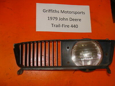 79 JOHN DEERE 440 JD TRAILFIRE TRAIL FIRE 340 78 77 HEADLIGHT VENT TRIM BEZEL