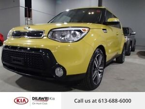 2015 Kia Soul SX/LEATHER/BACK UP CAM/ UVO POWERED BY MICROSOFT++