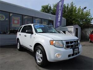 2008 FORD ESCAPE XLT * LOADED WITH OPTIONS * POWER SEAT !! CLEAN