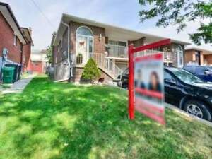 4+2 Bedroom Semi Detached 5 Level Back Split Home