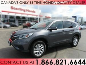 2015 Honda CR-V SE AWD | NO ACCIDENTS | 1 OWNER | PROTECTION PKG