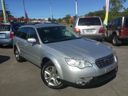 2007 Subaru Outback MY07 2.5I Luxury Silver 4 Speed Auto Elec Sportshift Wagon Southport Gold Coast City Preview