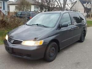 2004 HONDA ODYSSEY EX-L | LEATHER | POWER DOORS