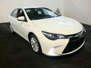 2015 Toyota Camry AVV50R MY15 Atara S Hybrid Diamond White Continuous Variable Sedan Clemton Park Canterbury Area Preview