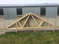 9 Roof Trusses for Sale - New £15 each - Perfect Condition