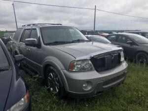 2004 Lincoln Navigator Ultimate package