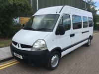 2008 Renault Master 2.5 dCi LM39 Mini Bus Diesel Manual 16 Seat Minibus Manual M