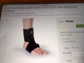 Foot up Foot Support for Drop Foot