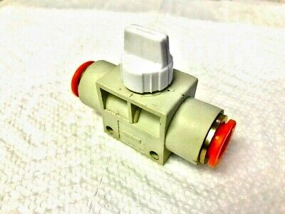 Utah Pneumatic 2 Pack Air Flow Control Valve With Push-to-connect Fitting 38 Od