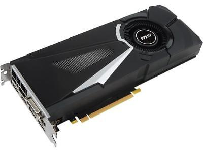 MSI GeForce GTX 1070 Ti DirectX 12 GTX 1070 Ti AERO 8G 8GB 256-Bit GDDR5 PCI Exp