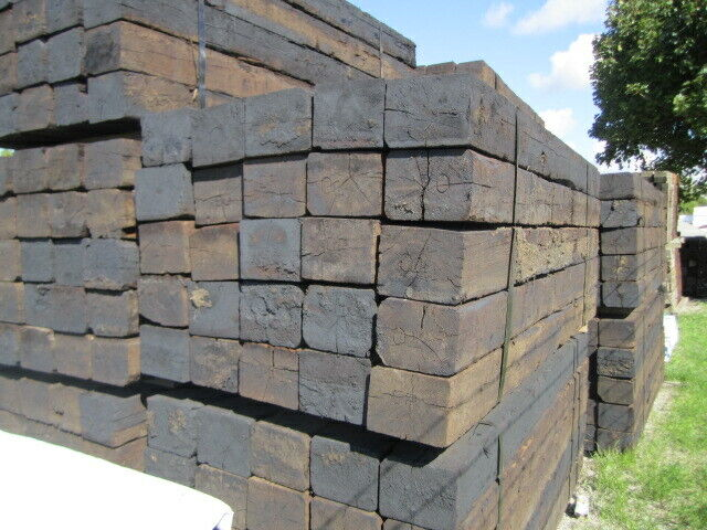 USED RAILWAY/RAILROAD TIES & POSTS FOR LANDSCAPING | Other ...