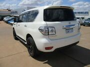 2018 Nissan Patrol Y62 Series 4 TI White 7 Speed Sports Automatic Wagon South Kalgoorlie Kalgoorlie Area Preview