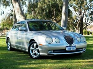 2001 Jaguar S-Type X200 MY2001 Silver 5 Speed Automatic Sedan Myaree Melville Area Preview