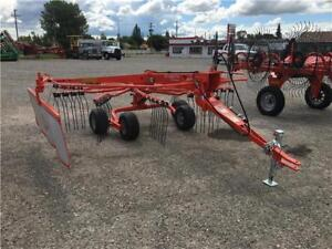 KUHN GA4220TH TRAILED SINGLE ROTARY RAKE (END OF SUMMER SPECIAL)