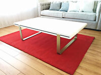 Ikea Red area rug