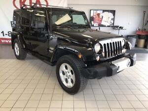 2014 Jeep Wrangler Unlimited Sahara 4WD 3.6L *NAVIGATION/HEATED