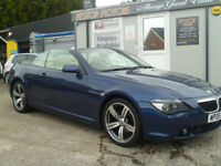2005 630 1 AUTOMATIC CONVERTABLE,, FINANCE AVAILABLE ON ALL CARS