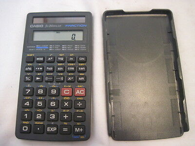 Old Casiofx 260 Solar Fraction Calculator Works