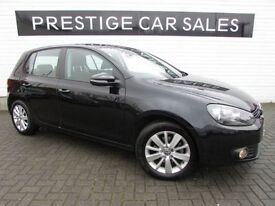 VOLKSWAGEN GOLF 2.0 MATCH TDI 5d 138 BHP (black) 2012