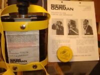 siebe gorman puretha gas resprator 1968