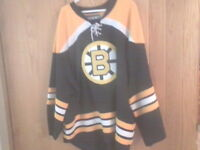 CHANDAIL GARDIEN DE BUT LHN BOSTON BRUINS GOALIE CUT NHL JERSEY