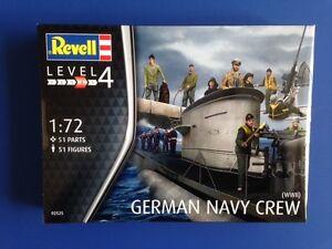 Revell-Kit-Modello-Marina-Tedesca-Equipaggio-SECONDA-GUERRA-MONDIALE-02525-51