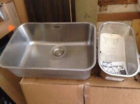 Blanco Undermount Bowl & 1/2 Sink