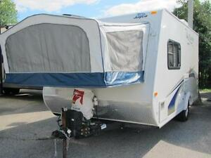 2011 JAYCO 17Z- JUST TRADED A REAL NICE HYBRID= EASY FINANCING!
