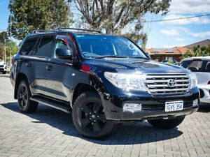 2011 Toyota Landcruiser VDJ200R MY10 VX Black 6 Speed Sports Automatic Wagon Morley Bayswater Area Preview