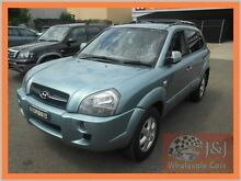 2005 Hyundai Tucson DB Series II Elite Green 4 Speed Auto Selectronic Wagon Warwick Farm Liverpool Area Preview