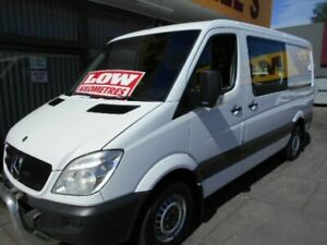 2013 Mercedes-Benz Sprinter 316 CDI MWB LOW ROOF White Automatic Van West Hindmarsh Charles Sturt Area Preview