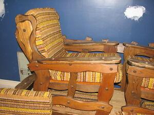 Beau set de salon, divan et sofa vintage ! Saint-Hyacinthe Québec image 5