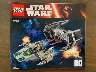 LEGO Star Wars A-Wing Starfighter 75150 Incomplete Sealed