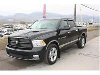 "2011 RAM 1500 SPORT CREW CAB 4X4 ""BLACK BEAUTY""!!"