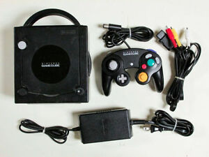 ***BLACK NINTENDO GAMECUBE SYSTEM + MANY GAMES AVAILABLE!!!***