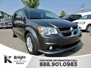 2017 Dodge Grand Caravan Crew Plus Heated Leather Remote Start D