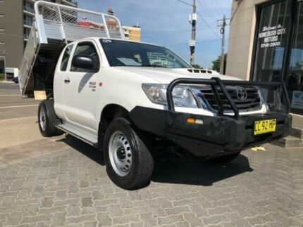 2015 Toyota Hilux KUN26R MY14 SR (4x4) White 5 Speed Manual X Cab Pickup North Strathfield Canada Bay Area Preview