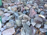 Pennant Stone for Wall or Rockery