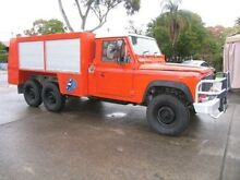 1995 Land Rover Defender  Red  duel cab ute Kingsgrove Canterbury Area Preview